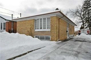 Detached Bungalow for Rent, 8 Babcock Rd #Bsmt, Toronto, ON