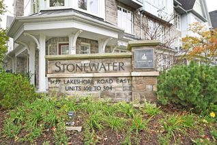 Condo Townhouse 3-Storey for Sale, 1437 Lakeshore Rd E #202, Mississauga, ON