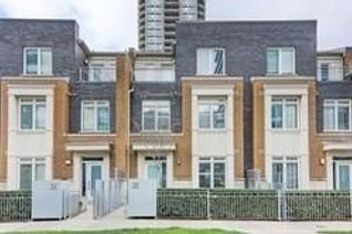 Condo Townhouse 3-Storey for Rent, 370 Square One Dr #Th27 A, Mississauga, ON
