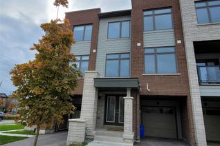 Attached/Row House/Townhouse 3-Storey for Rent, 52 Allure St, Newmarket, ON